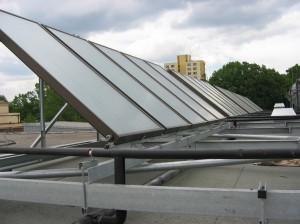 solární systém bytový dům