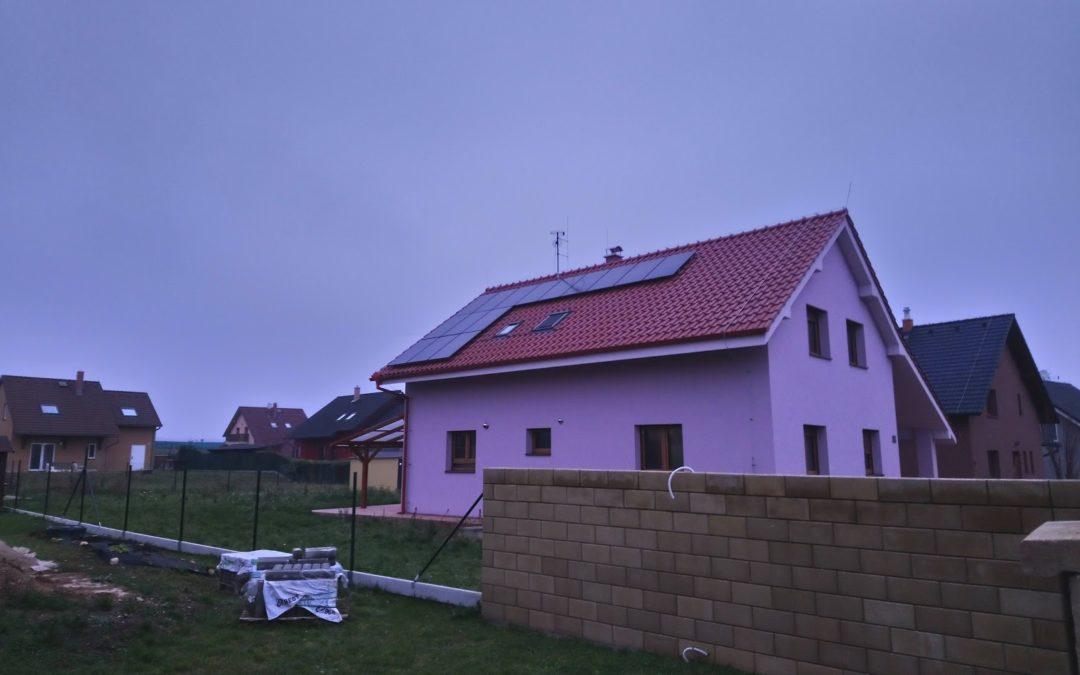 Fotovoltaika Dolní Bousov