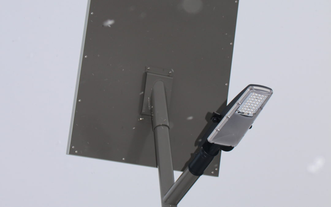 Solární lampy – MČ Štěrboholy